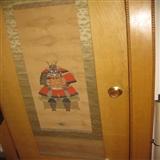 老画。小日本作品。包老。画心92 32厘米