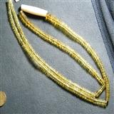 【佳品收藏】天然净水金珀扁珠链