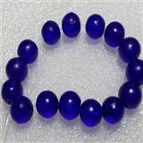 清代宝石蓝琉璃