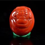 南红玛瑙  元宝 财神