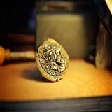 铜包银腰带扣