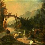 法国19世纪老油画