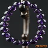 天然 紫水晶手珠31克