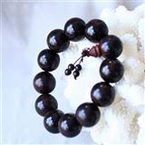 【雅】保真老料印度小叶紫檀手珠