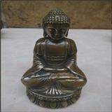 纯铜佛像--释