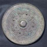 北宋海兽龙纹铜镜